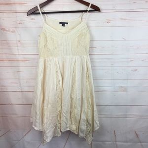 American Eagle Outfitters 2 Dress Summer Cream